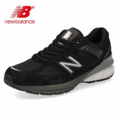 ニューバランス レディース スニーカー new balance W990 BK5 ブラック ワイズ D Made in USA