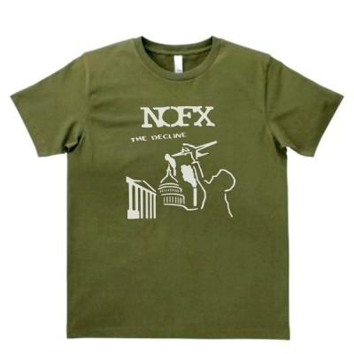 バンド ロック Tシャツ NOFX カーキー MLサイズ