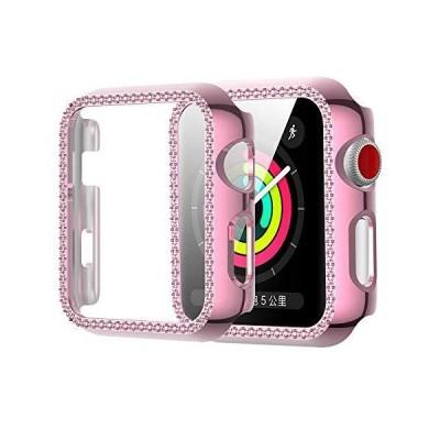 NN.ORANIE for Apple Watch Series 6/SE/5/4 44mm ケース HD保護フィルム トップ保護+PCフレーム ダイ