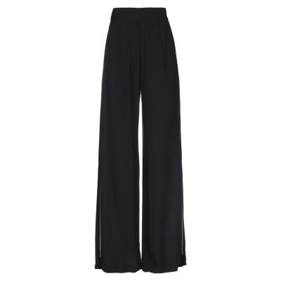 SE-TA Rosy Iacovone パンツ ブラック 40 レーヨン 100% パンツ