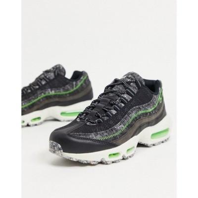 ナイキ Nike メンズ スニーカー エアマックス 95 シューズ・靴 Air Max 95 Revival Trainers In Black ブラック