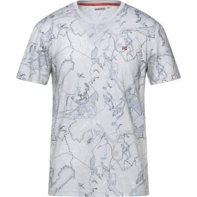 ナパピリ NAPAPIJRI メンズ Tシャツ トップス T-Shirt Grey