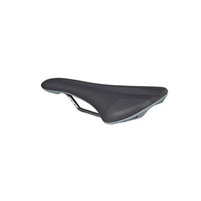 Spank Oozy 280 Co-Molded Anatomic Trail Bicycle Saddle, Black/Grey