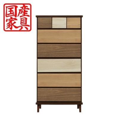 チェスト タンス ハイチェスト 幅60 木製 衣類収納 整理たんす 箪笥 収納家具 インテリア