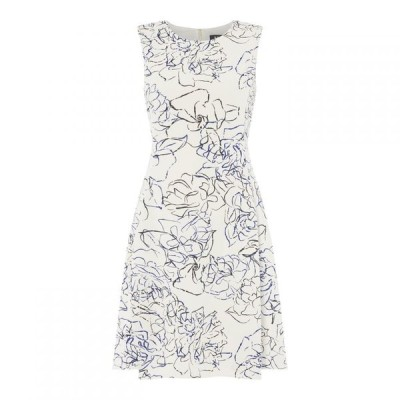ディーケーエヌワイ DKNY Occasion レディース ワンピース ノースリーブ ワンピース・ドレス Sleeveless Fit and Flare Dress Multi