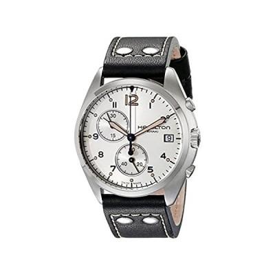 Hamilton Men's H76512755 Khaki Aviation Stainless Steel Watch with Black Ge