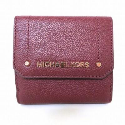 マイケルコース 3つ折り財布 レディース 【中古】【あすつく】