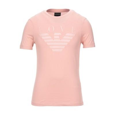 エンポリオ アルマーニ EMPORIO ARMANI T シャツ ピンク XXS コットン 100% T シャツ
