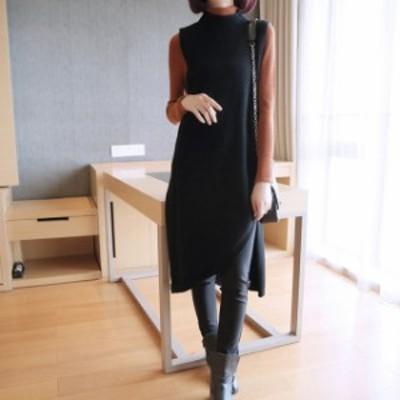 ジャンバースカート レディース ジャンバースカート ロング 大きいサイズ マタニティ ロングスカート 袖なし 秋冬
