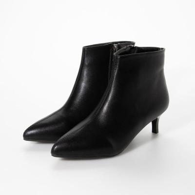 シュベック SVEC ショートブーツ (ブラック)