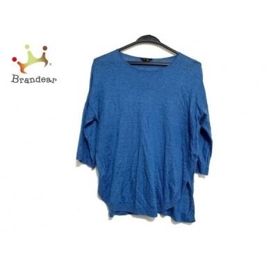 セオリー theory 半袖セーター サイズS レディース 美品 ブルー   スペシャル特価 20210107