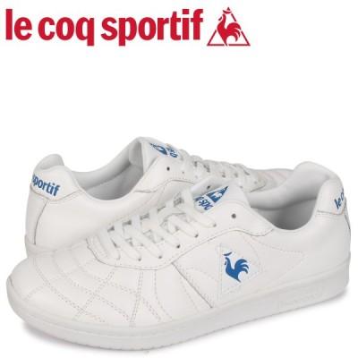 ルコック スポルティフ le coq sportif スニーカー メンズ プリューム 2 PLUME 2 ホワイト 白 QL1PJC20WB