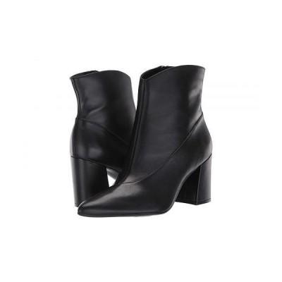 Naturalizer ナチュラライザー レディース 女性用 シューズ 靴 ブーツ アンクル ショートブーツ Hart - Black Leather