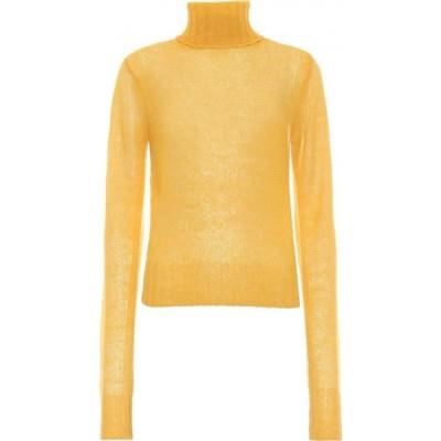 ヴィクトリア ベッカム Victoria Beckham レディース ニット・セーター トップス Alpaca-Blend Turtleneck Sweater Yellow