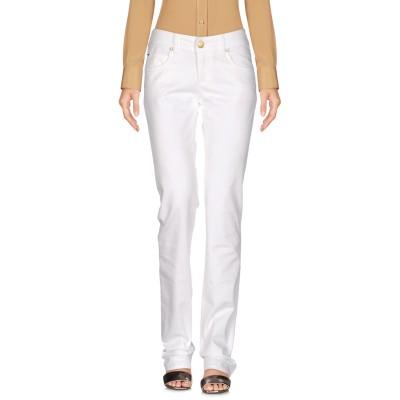 アルマーニ ジーンズ ARMANI JEANS パンツ ホワイト 27 98% コットン 2% ポリウレタン パンツ