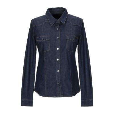 PHILIPP PLEIN デニムシャツ ブルー S コットン 98% / ポリウレタン 2% デニムシャツ