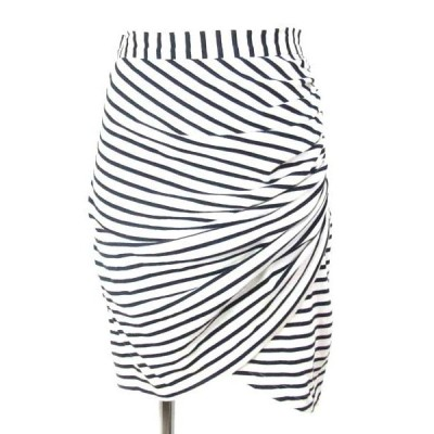 sea 白 紺 スカート XS