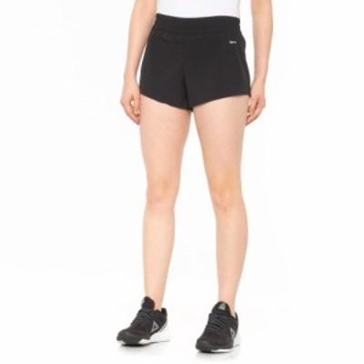 ハインド Hind レディース ショートパンツ ボトムス・パンツ Stretch-Woven Shorts - Built-In Brief Black