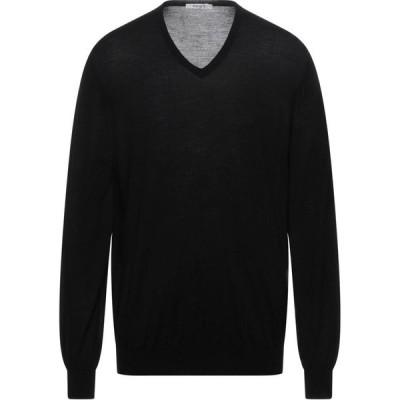 カングラ カシミア KANGRA CASHMERE メンズ ニット・セーター トップス sweater Black