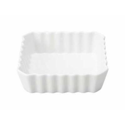 角9吋パイ皿【19x19cm・白・食器・磁器・オーブン料理・プロ使用・業務用・本格】【stockヤ】