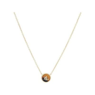 (取寄)ローレン ラルフローレン レディース ペンダント ネックレス LAUREN Ralph Lauren Women's Pendant Necklace Gold/Tortoise