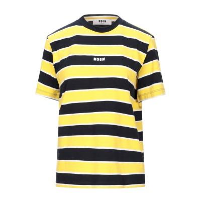 エムエスジーエム MSGM T シャツ ブラック XS コットン 100% T シャツ