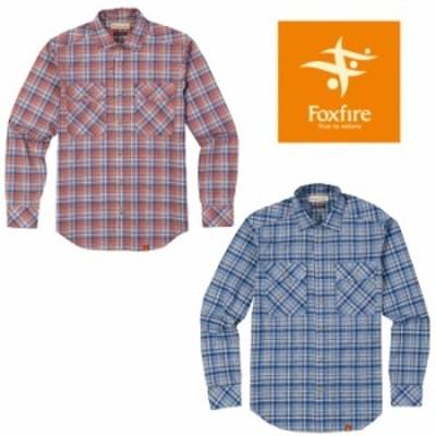フォックスファイヤー SCグラデチェックシャツL/S FXF5212767 SC Gradation Check Shirt L/S メンズ/男性用 シャツ