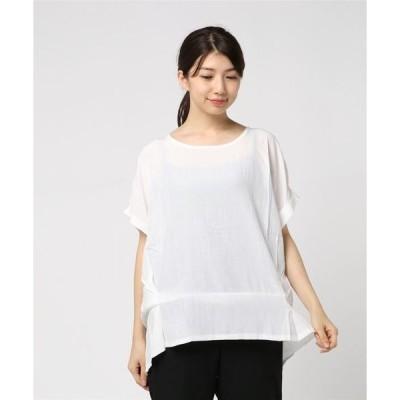 tシャツ Tシャツ VIBGYOR SELECT/エステルクレープ ビッグプルオーバー (LC)