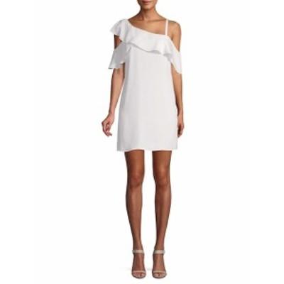 レイチェルレイチェルロイ レディース ワンピース Asymmetrical Ruffle Trapeze Dress