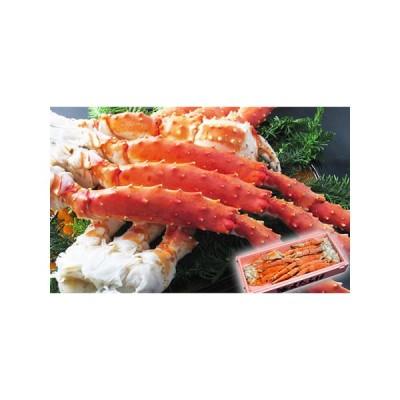 ふるさと納税 ボイル冷凍 本タラバガニ脚 5Lサイズ 3kg(2.5肩〜3.5肩)【三洋食品】※2021年2月以降順次発送予定 北海道網走市