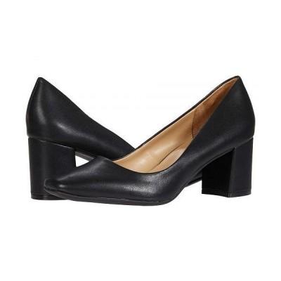 Naturalizer ナチュラライザー レディース 女性用 シューズ 靴 ヒール Warner - Black Smooth