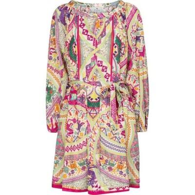エトロ Etro レディース ワンピース ミニ丈 ワンピース・ドレス printed cotton minidress Multicolor