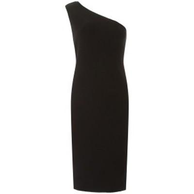 BOTTEGA VENETA/ボッテガ ヴェネタ Black Bottega veneta one-shoulder dress レディース 春夏2020 620458 VKSK0 ik