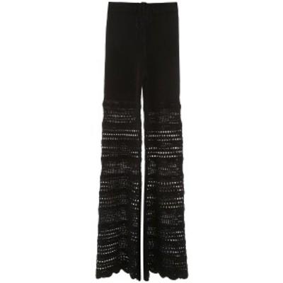 AMIRI/アミリ Black Amiri crochet pants レディース 春夏2020 Y0W09235CR ik