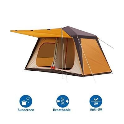 【並行輸入品】Family Camping Tents Camping Tents 4-6 People, Outdoor Pop-Up Tents, Automatic Dome Tents, Thick Tunnel Tents For Campi