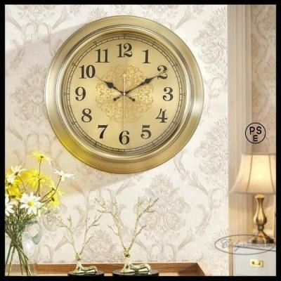 事務用時計 金属製壁時計 壁掛け時計 豪華 サイレント壁時計 工芸品 現代 中国風 デスククロック リビングルーム 美術品 装飾品