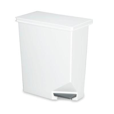 ゴミ箱/ダストボックス 〔35型 ホワイト 35L〕 スイッチペダル 新輝合成 ユニード