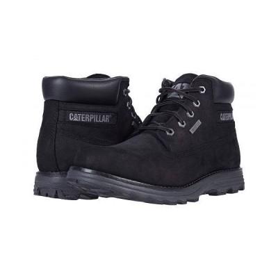 Caterpillar Casual キャタピラー メンズ 男性用 シューズ 靴 ブーツ レースアップ 編み上げ Founder Waterproof Thinsulate(TM) - Black