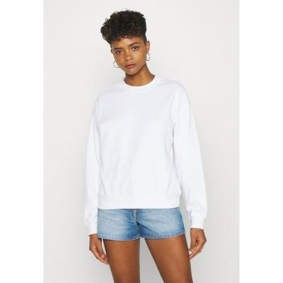 モンキ パーカー・スウェットシャツ レディース アウター Sweatshirt - white