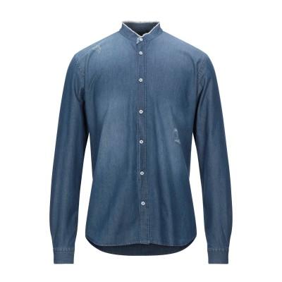 STILOSOPHY INDUSTRY デニムシャツ ブルー M コットン 100% デニムシャツ