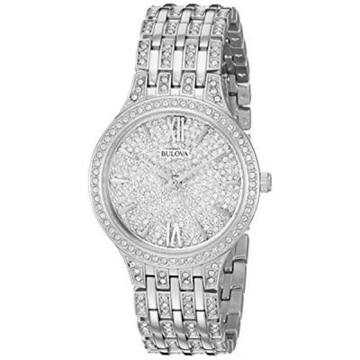 ブローバ Bulova 腕時計 時計 Bulova Women's Quartz Stainless Steel Casual Watch, Color:Silver-Toned (Model: 96L243)