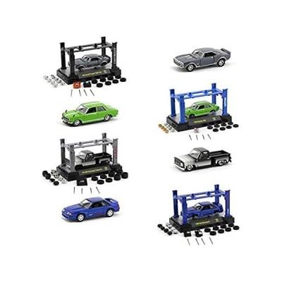 M2 Machines Model Kit 4 Piece Car Set Release 32 1/64 Diecast Model Cars 37並行輸入品