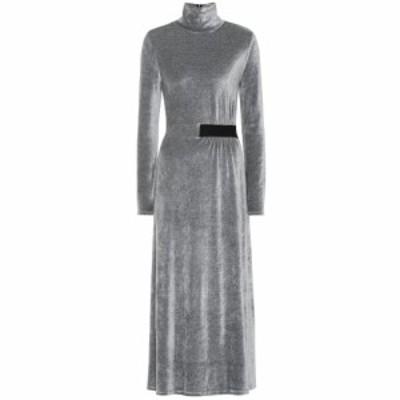 ドロシー シューマッハ Dorothee Schumacher レディース ワンピース ワンピース・ドレス Soft Twist velvet dress tender grey