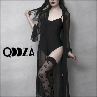 【予約】QOOZA / シースルーカーディガン