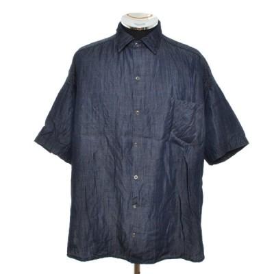 サンデーワークス SUNDAY WORKS テンセルシャツ USA製 ショートスリーブ 半袖 サイズS 中古 古着