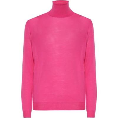 ステラ マッカートニー Stella McCartney レディース ニット・セーター トップス Virgin wool turtleneck sweater Fuchsia Pop