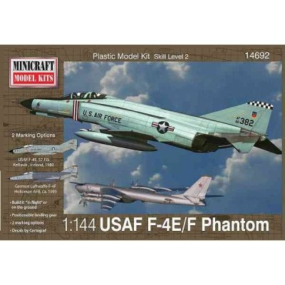 1/144 アメリカ空軍 F-4E/Fファントム/ミニクラフト14692/