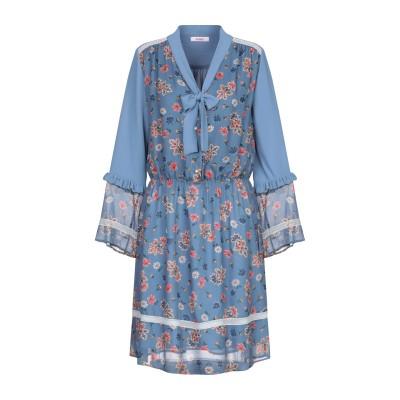 ブルーガール ブルマリン BLUGIRL BLUMARINE ミニワンピース&ドレス パステルブルー 42 レーヨン 100% / ポリエステル ミ