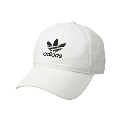 アディダス adidas Originals レディース キャップ 帽子 Originals Relaxed Strapback Cap White