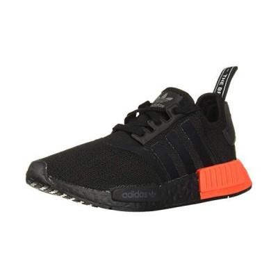 adidas Originals mens Nmd_r1 Running Shoe, Black/Black/Solar Red, 11.5 US